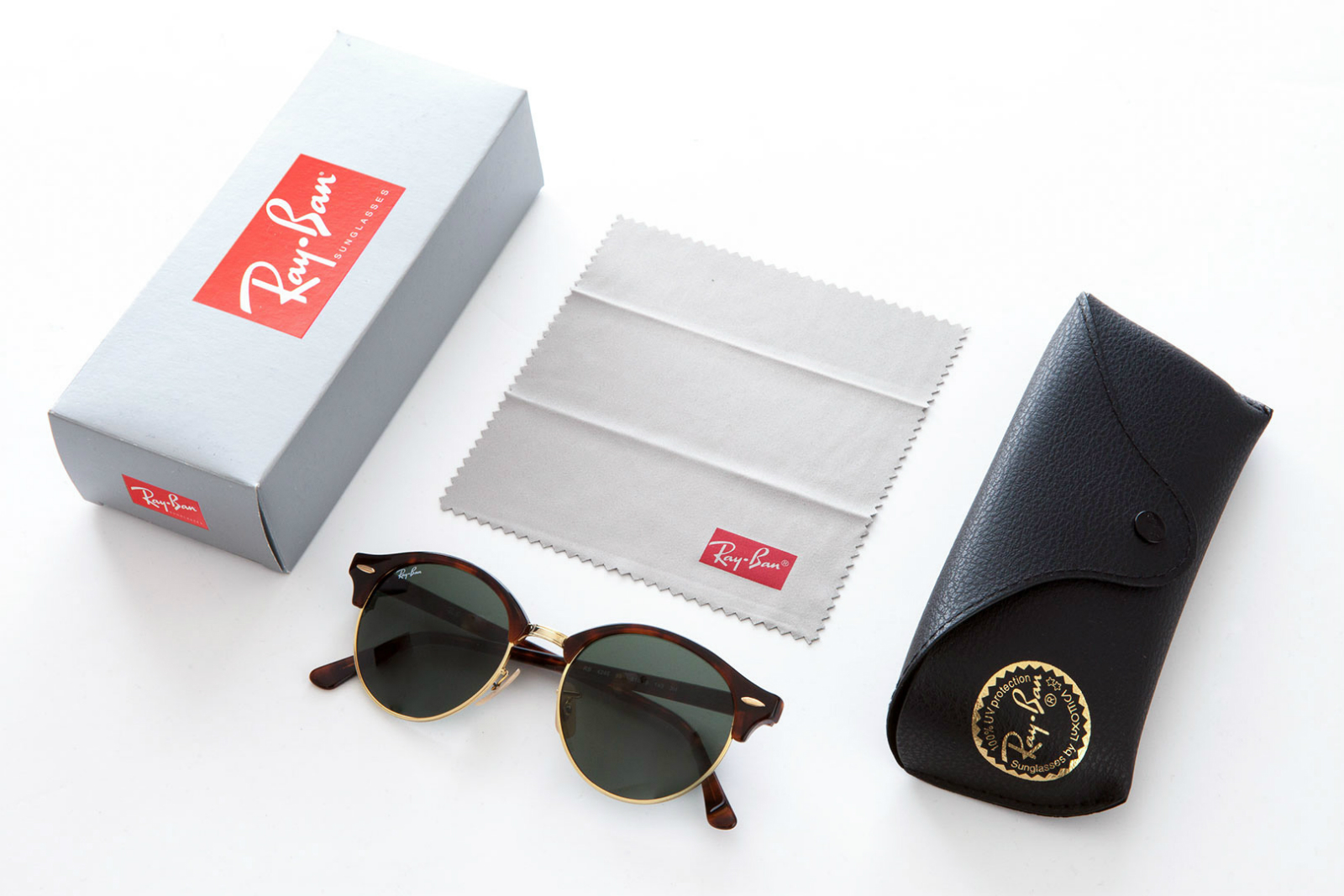 boitier lunettes ray ban